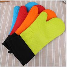 Heat-resistance Grill Mitt Silicone Gloves for Baking