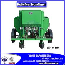 Maquinaria do equipamento de exploração agrícola do fabricante de China do plantador da semeadora da batata de 2 fileiras