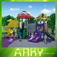 Commercial plastic playground equipment for children