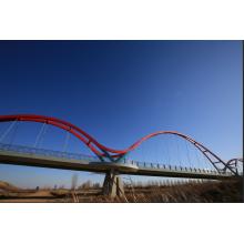 Строительство стальных конструкций фермы временного моста Бейли