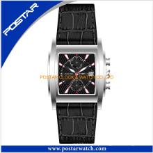 Fábrica relógio de pulso clássico cronógrafo para homens Mulheres