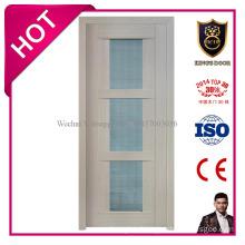 Luxury Style Solid MDF Glass Door for Bathroom