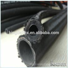 Tuyau hydraulique flexible en caoutchouc de couverture tressée de nylon de 3 pouces R5