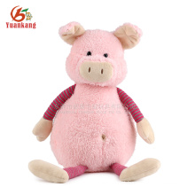 Animal bonito recheado, brinquedo de porco rosa gordo