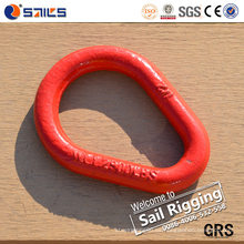 Qingdao China Rigging Hardware Red Weldless Sling Enlaces