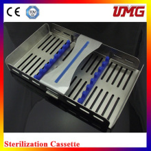 M185X110 Stainless Dental Sterilizer Cassette