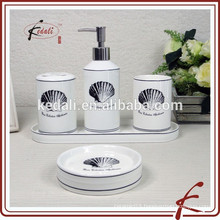 Shell Design Durable Bathroom Accessories