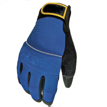 Nonslip Palm Mantenimiento del automóvil Blue Equipment Gloves