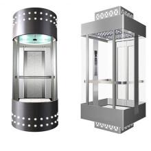Ascenseur panoramique Fujizy pour les passagers avec salle des machines