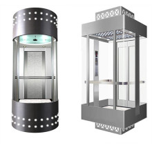 Fujizy Panoramic Elevator for Passenger with Machine Room