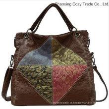 Bolsa colorida da mulher do plutônio da forma da boa qualidade
