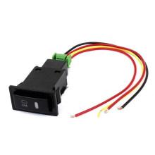 Interruptor do interruptor de Toyota / interruptor piloto preto do botão da luz de névoa da lâmpada