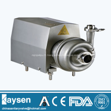 Pompe centrifuge sanitaire Couvercle carré à roue fermée