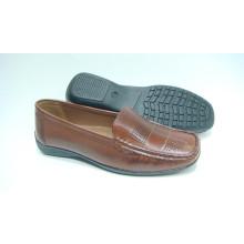 Klassische Comfort Lady Schuhe mit flachen TPR Outsole (Snl-10-081)