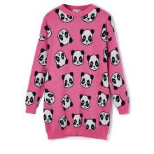 13STC5229 Jacquard Pullover Design für Damen Rundhals Pullover