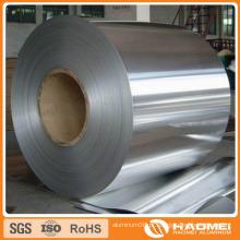 Folha de cobertura de alumínio na bobina