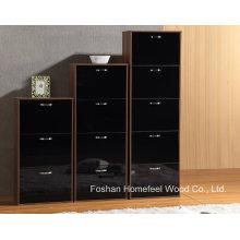 Modern High UV Gloss Wooden 5 Drawers Shoe Cabinet (XE51)