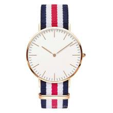 Reloj de cuarzo clásico Dw, reloj de acero inoxidable Hl-Bg-094