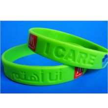 Waterproof Silicon Wristband Soft Wrist Strap (GZHY-SW-001)