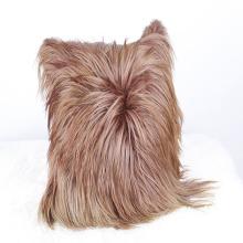 Cojín de cuero perfecto al por mayor de la cabra del pelo al por mayor
