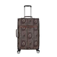 PU leather animal skin Pattern luggage