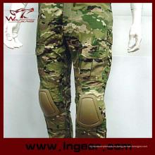 Gen 2 pantalones de caza táctico militar al aire libre de estilo con pantalones de cojines de la rodilla
