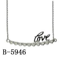 Modeschmuck 925 Sterling Silber Anhänger Halskette