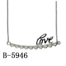 Fashion Jewelry 925 Sterling Silver Pendant Necklace