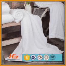 Toalha de mão branca superior 500gsm 100% algodão