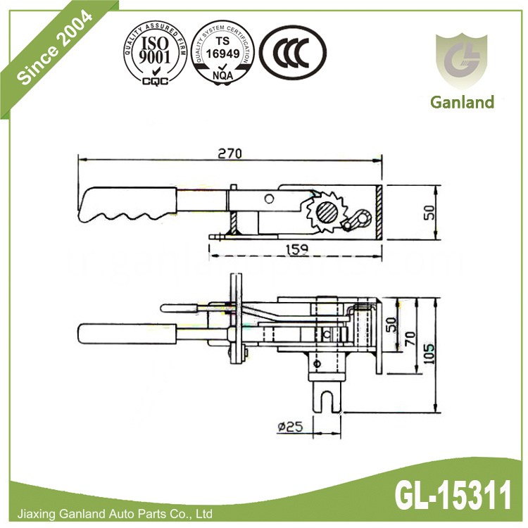 Curtain Tensioner GL-15311