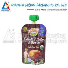 LIXING PACKAGING plastic frozen food packaging bag