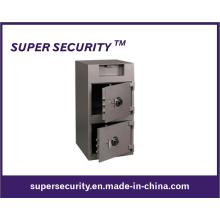 Cofre forte do depósito da carga da parte dianteira da porta dobro (SFD3920)