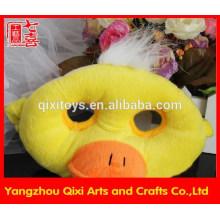 Melhor venda de máscara de pato de máscara de pato de brinquedo animal de pelúcia bonito máscara facial