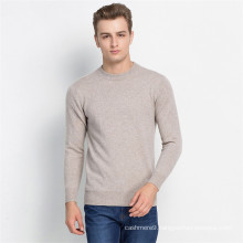 men cashmere sweater plain long sleeve cowl neck sweater