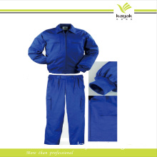 Custom Large Size Cotton Embroidery Blue Overall Uniform (U-12)