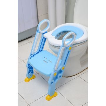 Blue Baby Toilet Escalera de seguridad