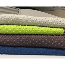 100% Polyester Polar Fleece with Embossed Fabric