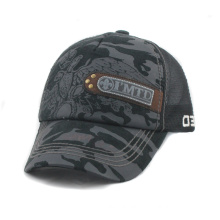 Wholesale Printed 5 Panels Trucker Cap with Patch Logo