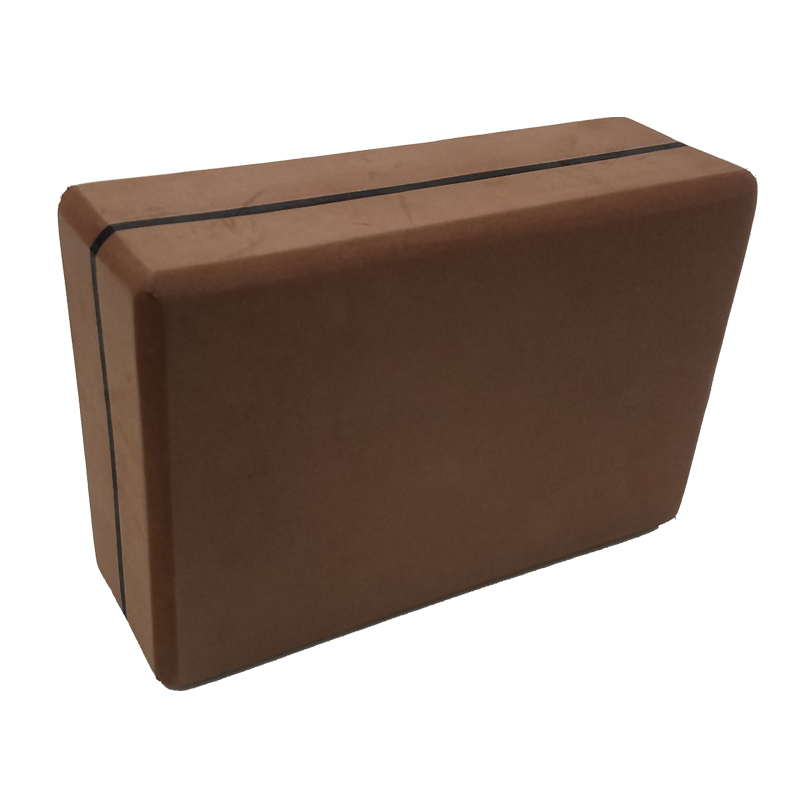 brown Yoga Block