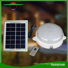 2016 New Products 60 LED Remote Control Smart Outdoor Garden Light Solar Ceiling Wall Lamp Indoor Home Light