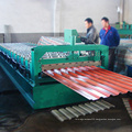 Color roofing corrugated iron sheet making machine from china