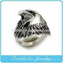 вебсайт Alibaba нержавеющей стали черная эмаль животных Орел кольцо для мужчин ювелирные изделия сделано в Китае