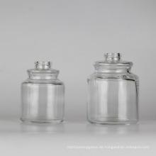 Glas Jar / Parfüm Flasche / Kosmetik Verpackung / Kosmetik Flasche