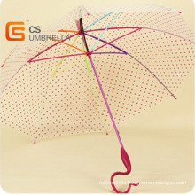 Specila Handle Colorfull Shaft and Ribs Poe Umbrella (YS-T1003A)
