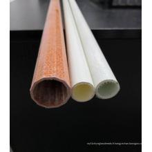 Tube en fibre de verre de 25 mm avec résistance de tapis en fibre de verre flexible