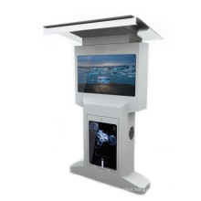 55/42 Dual Sides Free Standing LCD Display