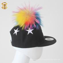 Estrella bordada al por mayor del borde bordada niños del Snapback de los niños
