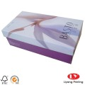 Custom cardboard with logo paper gift box