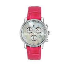 Womens luxury silver chronograph watches
