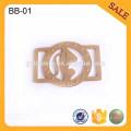 BB01 Custom Adjustable Slider Buckle Metal Tri-glide Buckle For Bag